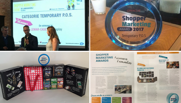 Shopper Marketing Award 2017 Category Temporary P.O.S.